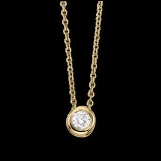 Brogle Atelier Halskette mit Anhänger Pure Eternity LW30-0833170-BGSI