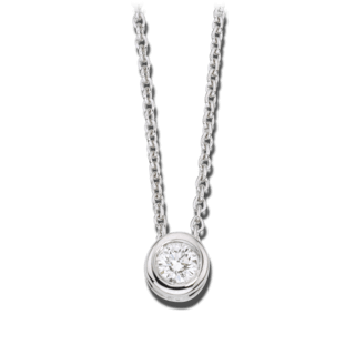 Brogle Atelier Halskette mit Anhänger Pure Eternity LW30-0833171-DGSI