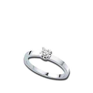 Brogle Atelier Solitairering Pure Solitaire 544-884