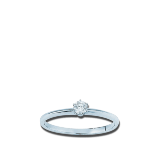 Brogle Atelier Ring Pure Solitaire F1369W