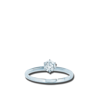 Brogle Atelier Solitairering Pure Solitaire F1373W