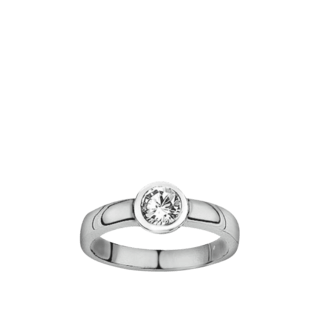 Brogle Atelier Solitairering Pure Solitaire F868W/SI-54