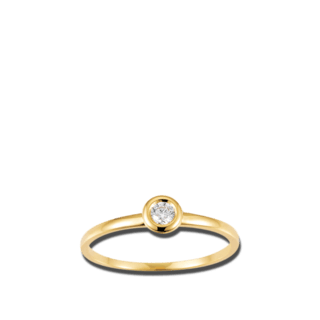 Brogle Atelier Solitairering Pure Solitaire K10487/G