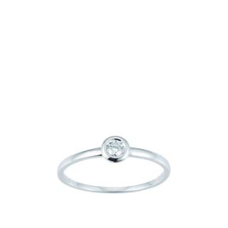 Brogle Atelier Solitairering Pure Solitaire K10487
