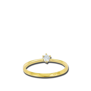 Brogle Atelier Solitairering Pure Solitaire K10490/G