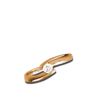 Brogle Atelier Solitairering Pure Solitaire R44-20
