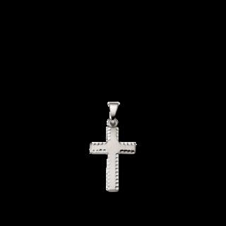 Brogle Atelier Anhänger Kreuz C301-028/W