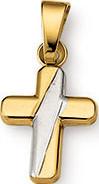 Anhänger Brogle Atelier Kreuz aus 585 Gelbgold
