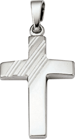 Anhänger Brogle Atelier Kreuz aus 925 Sterlingsilber