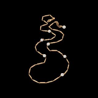 Brogle Atelier Halskette Timeless Pearls 1033142C-585GG-60