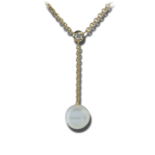 Brogle Atelier Halskette Timeless Pearls 61/87523-0_585GG