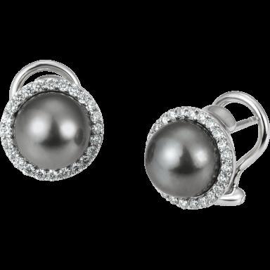 Brogle Atelier Ohrstecker Timeless Pearls 01/83604-0_585WG