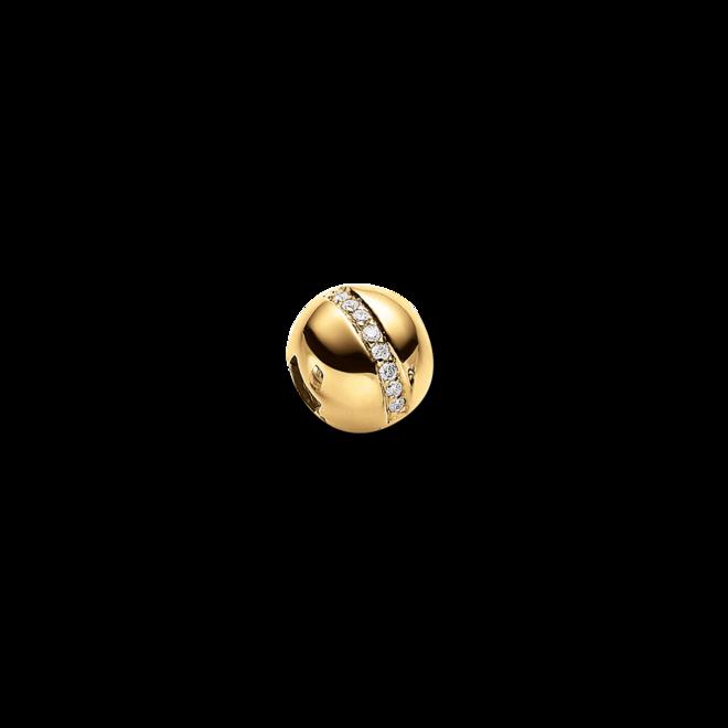 Anhänger Brogle Atelier True Gold - wahre Goldstücke aus 585 Gelbgold mit mehreren Brillanten (0,128 Karat) bei Brogle