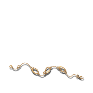 Brogle Atelier Armband True Gold 1033104-585GG-18