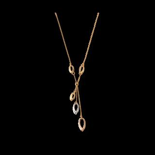 Brogle Atelier Halskette mit Anhänger True Gold 1033107C-585GRW-43