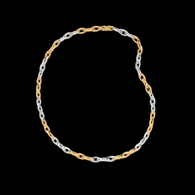 Halskette Brogle Atelier True Gold - wahre Goldstücke aus 585 Gelbgold und 585 Weißgold
