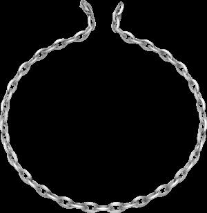 Halskette Brogle Atelier True Gold - wahre Goldstücke aus 585 Weißgold