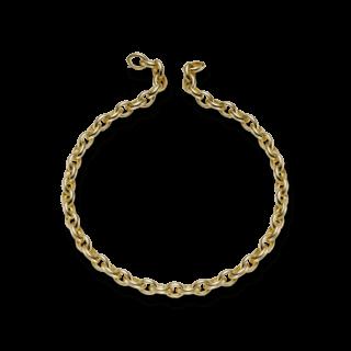 Brogle Atelier Halskette True Gold - wahre Goldstücke 221748C-585GG-45.5
