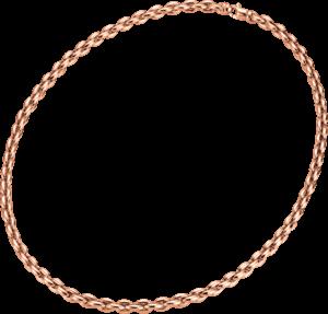 Halskette Brogle Atelier True Gold - wahre Goldstücke aus 750 Roségold