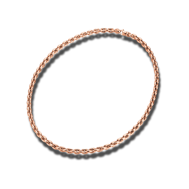 Halskette Brogle Atelier True Gold - wahre Goldstücke aus 750 Roségold bei Brogle