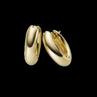 Brogle Atelier Ohrring True Gold - wahre Goldstücke 1031243E-585GG
