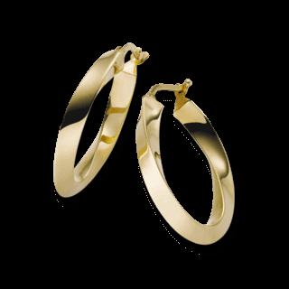 Brogle Atelier Ohrring True Gold 1110305E-585GG