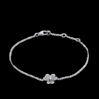 Brogle Selection Armband Basic Blume 5B727W8-1