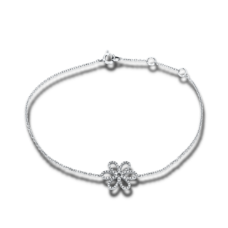 Brogle Selection Armband Basic Blume 5B867W8-1
