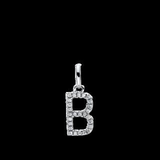 Brogle Selection Anhänger Basic Buchstabe B 3D711W8-1