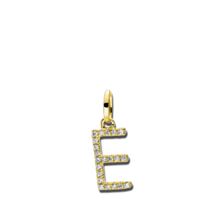 Brogle Selection Anhänger Basic Buchstabe E 3D714G8-1