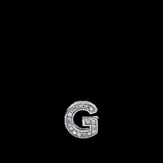 Brogle Selection Anhänger Basic Buchstabe G 3D189W4-1
