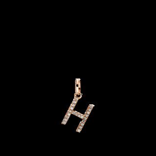 Brogle Selection Anhänger Basic Buchstabe H 3D717R8-1