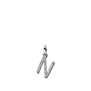 Brogle Selection Anhänger Basic Buchstabe N 3D721W8-1