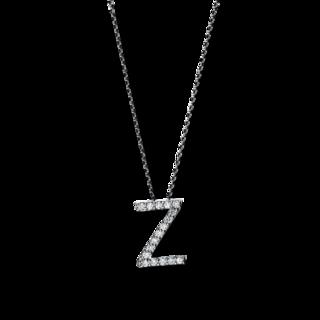 Brogle Selection Halskette mit Anhänger Basic Buchstabe Z 4F755W4-1