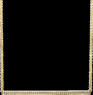 Halskette mit Anhänger Brogle Selection Basic aus 585 Gelbgold mit 90 Brillanten (0,26 Karat)