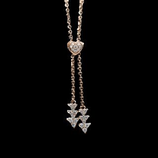 Brogle Selection Halskette mit Anhänger Basic 4C049R8-1