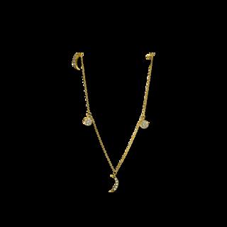 Brogle Selection Halskette mit Anhänger Basic 4D890G8-1