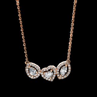 Brogle Selection Halskette mit Anhänger Basic 4F086R4-1