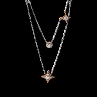 Brogle Selection Halskette mit Anhänger Basic 4F706RW8-1