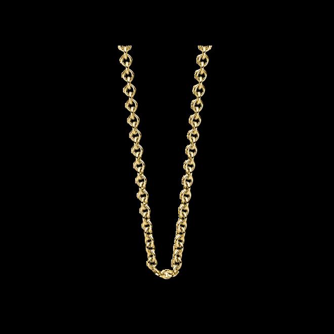 Halskette Brogle Selection Basic aus 750 Gelbgold