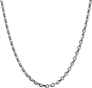 Halskette Brogle Selection Basic aus 750 Weißgold
