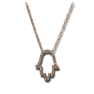 Brogle Selection Halskette mit Anhänger Basic Hand 4E320R8-1