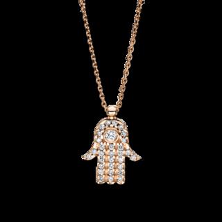 Brogle Selection Halskette mit Anhänger Basic Hand 4F234R4-1