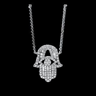 Brogle Selection Halskette mit Anhänger Basic Hand 4F545W8-1