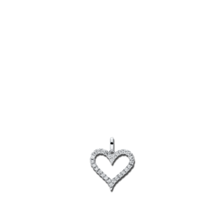Brogle Selection Anhänger Basic Herz 3C184W8-3