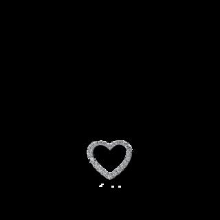 Brogle Selection Anhänger Basic Herz 3D103W8
