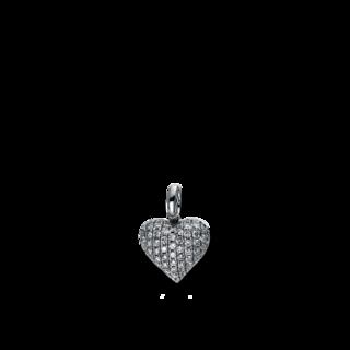 Brogle Selection Anhänger Basic Herz 3D300W8