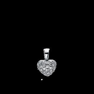 Brogle Selection Anhänger Basic Herz 3D301W8