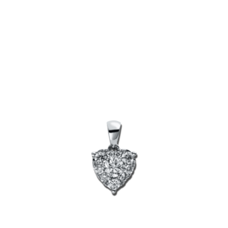 Brogle Selection Anhänger Basic Herz 3D523W8-1