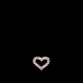Brogle Selection Anhänger Basic Herz 3D753R8-1